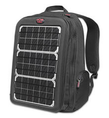 solar backpack cool tech gift idea